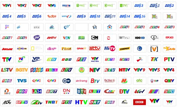 Quảng cáo trên tất cả các kênh truyền hình cả nước